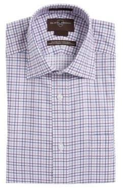 Black & Brown Black Brown Plaid Cotton Dress Shirt