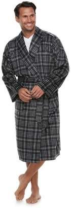 Chaps Men's Shawl-Collar Soft-Touch Robe