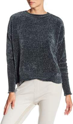 Romeo & Juliet Couture ROMEO &JULIET COUTURE Crew Neck Chenille Knit Pullover
