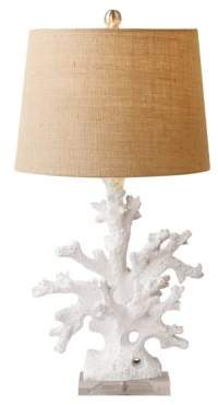 Twos Company Two's Company Coral Table Lamp