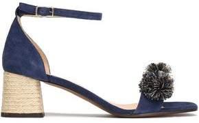 Castaner Xuxa Pompom-Embellished Suede Sandals