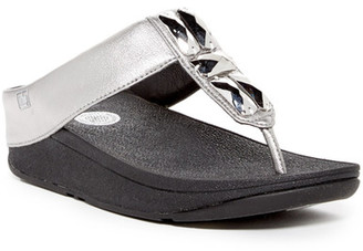 Fitflop Sweetie Toe-Post Sandal $95 thestylecure.com