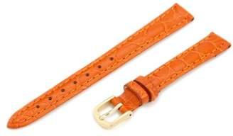 Hadley-Roma Women's LSL717RAG120 12-mm Crocodile Grain Watch Strap