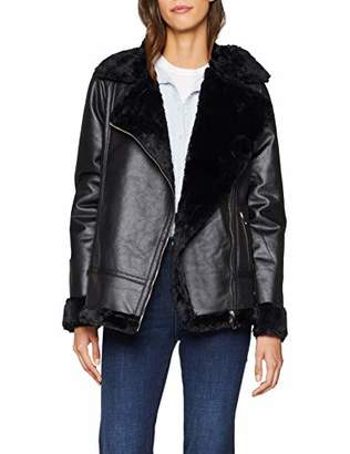 Dorothy Perkins Women's Shearling Fur Jacket,(Size:)