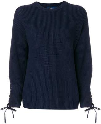 Polo Ralph Lauren tie cuff jumper