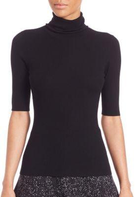 Theory Leenda B. Refine Turtleneck Sweater $190 thestylecure.com
