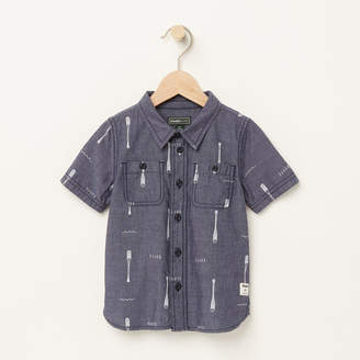 Roots Toddler Chambray Utility Shirt