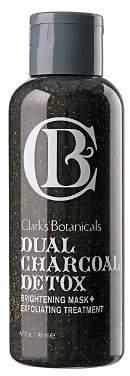 Clark's Botanicals Clarks Botanicals Dual Charcoal Detox Brightening Mask+ Exfoliating Treatment