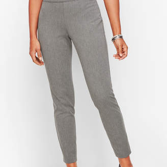 Talbots Essex Ankle Pant - Curvy Fit - Shadow Heather