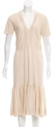 Burberry Knit Midi Dress w/ Tags
