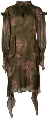 Josie Natori primrose print dress