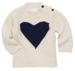 Burberry Baby Girl's& Little Girl's Heart Cashmere-Blend Knit Sweater