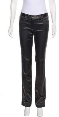 Dolce & Gabbana Straight-Leg Satin Pants