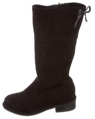 Stuart Weitzman Girls' Suede Knee-High Boots