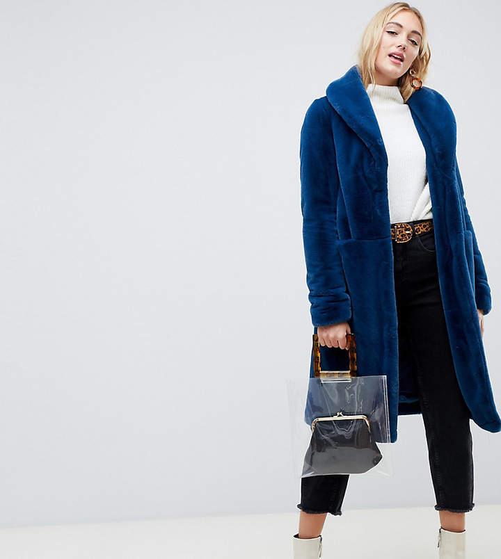 Tall Faux Fur Coat