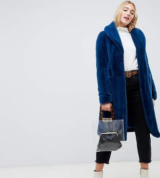 Vero Moda Tall Faux Fur Coat