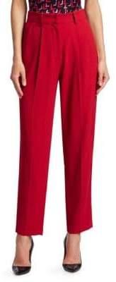 Emporio Armani Tech Cady Hi-Rise Trousers