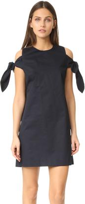 J.o.a. Knot Sleeve Dress