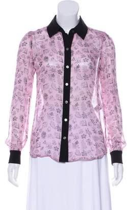 0c7beb36990 Diane von Furstenberg Pink Long Sleeve Tops For Women - ShopStyle Canada