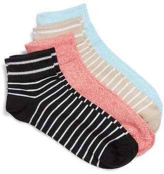 Hue 4-Pack Ankle Socks