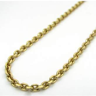 BH 5 Star Jewelry 14kt Yellow Gold Diamond Cut Cable Link Chain with Lobster Clasp (30, 2.30 mm)