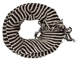 Donni Charm Knit Fringe Snood w/ Tags