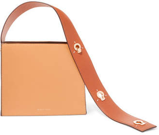 Lente Danse Zoe Leather Clutch - Tan