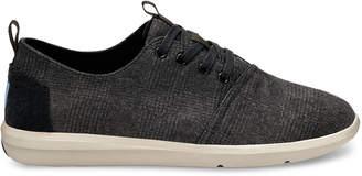 Toms Grey Plaid Men's Del Rey Sneakers