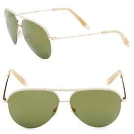 Victoria Beckham Classic 62MM Aviator Sunglasses