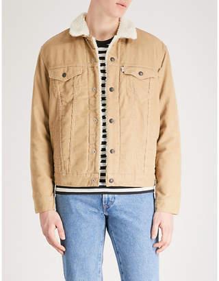 Levi's Type III Sherpa Trucker corduroy jacket
