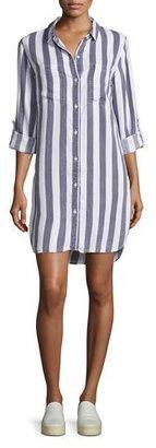 Rails Julian Striped Shirt Dress, Blue/White $168 thestylecure.com