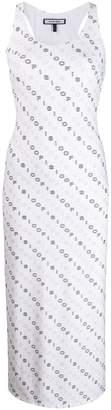 Fisico logo print tank dress