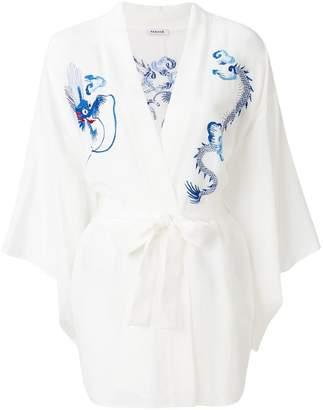 P.A.R.O.S.H. embroidered kimono jacket