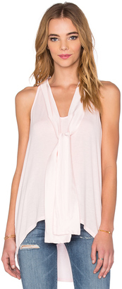 Michael Stars Sleeveless Halter With Ties $94 thestylecure.com