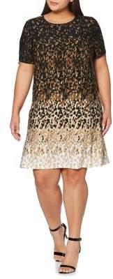 Rafaella Plus Short Sleeve A-Line Dress