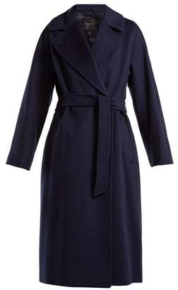 Max Mara Katai Coat - Womens - Navy