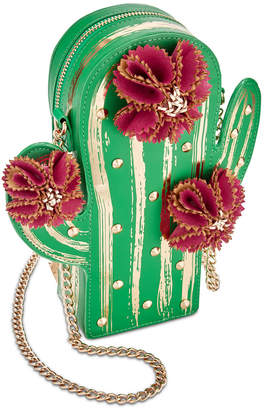 Betsey Johnson Lookin' Sharp Mini Cactus Crossbody