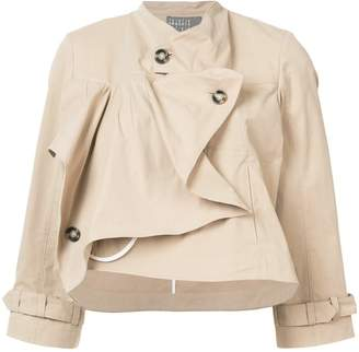 Roberta Furlanetto sculpted cropped jacket