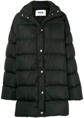MSGM oversize padded coat