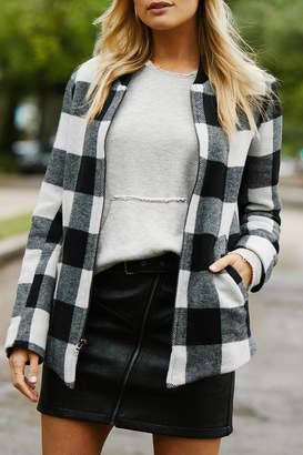 Fifteen-Twenty Fifteen Twenty Buffalo Plaid Jacket