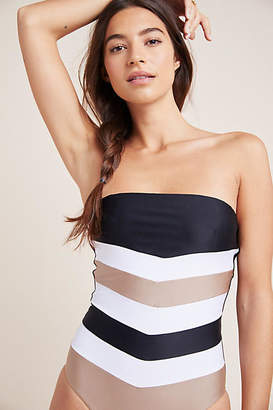 Pilyq Colorblocked One-Piece Swimsuit