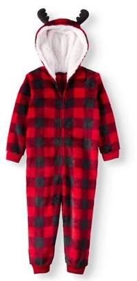 Buffalo David Bitton Family PJs Holiday Family Sleep Plaid Union Suit Pajama (Toddler Girls or Toddler Boys)