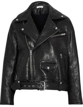 IRO Vandry Studded Leather Biker Jacket