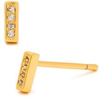 Gorjana Mave Shimmer Stud Earrings