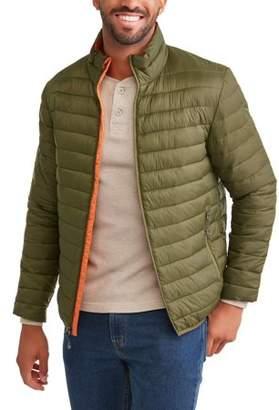 Swiss+Tech Men's Puffer Jacket Up To Size 5Xl