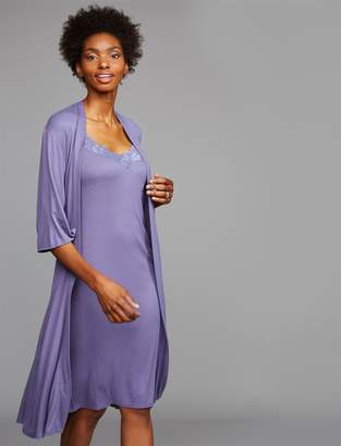 A Pea in the Pod Relaxed Fit Maternity Robe