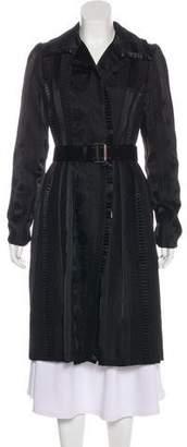 Oscar de la Renta Vintage Belted Coat