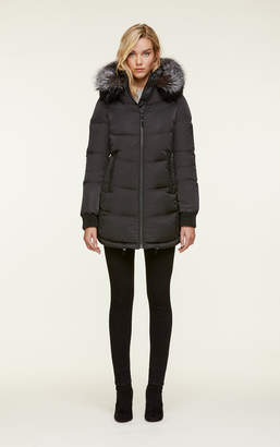 Soia & Kyo ALENNE water-repellent sporty down coat with fur