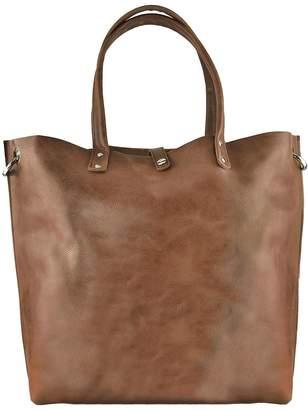 Kiko Leather Paseo Leather Tote $175 thestylecure.com