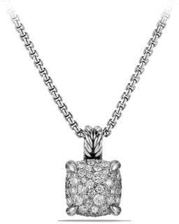 David Yurman Chatelaine Pendant Necklace with Diamonds